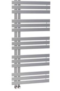 SILVANA fürdőszobai radiátor 500x1236mm, metál ezüst (IR153)