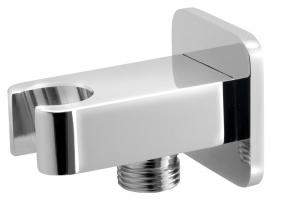 JUMPER fali fix kézizuhanytartó, vízbekötéses csatlakozóval, króm (JM540)