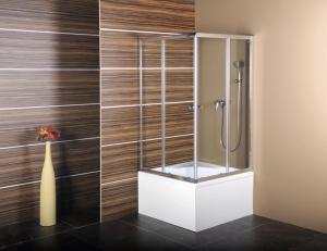 Polysan Carmen szimmetrikus zuhanykabin