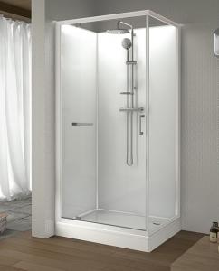 Sanplast klp-KCDJ/CLII Zárt téglalap alakú és négyszögletes zuhanykabin szett