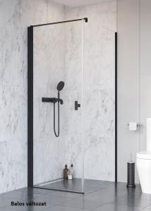 Radaway Nes Black KDJ I szögletes fekete zuhanykabin