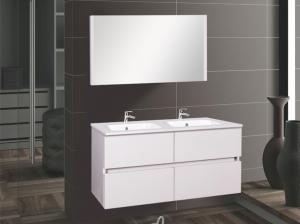 Wellis ELOIS White 120 bútor szett / bútor+mosdó+tükör /