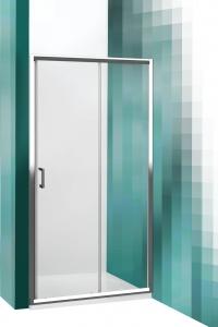 Roltechnik LLD2 görgős zuhanyajtó két fal közé