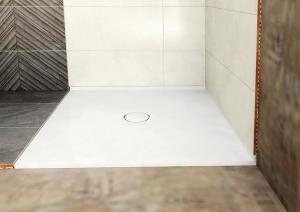 MIRAI öntöttmárvány zuhanytálca, 90x90x1,8cm (73165)