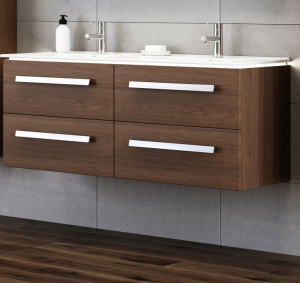 Tboss Modena alsó szekrény mosdóval 120 cm méretben, válaszható színben