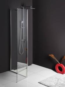 SAPHO-POLYSAN MODULAR-MODUL MS3 Fix zuhanyfal, L típusú kialakításhoz, ajtós változat 3/1, (A)