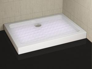 PP79 zuhanytálca fix előlappal
