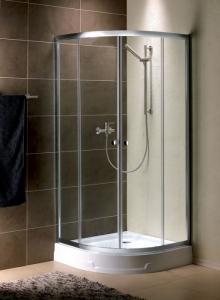 Radaway Premium A1900 íves görgős zuhanykabin