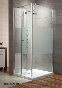 Radaway EOS KDJ-B harmonika ajtós zuhanykabin