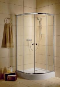 Radaway Classic A íves görgős zuhanykabin
