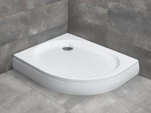 Radaway Patmos E aszimmetrikus akril zuhanytálca