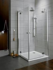 Radaway Torrenta KDD szögletes két nyílóajtós zuhanykabin