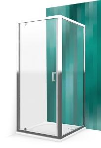 Roltechnik LLDO1 + LLB szögletes tuskabin egy nyíló ajtóval