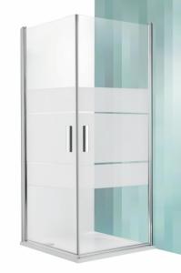 Roltechnik Tower Line TCO1 aszimmetrikus dupla nyílóajtó zuhanykabin