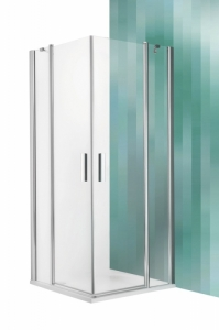 Roltechnik Tower Line TDO1 fix falas zuhanykabin, 2 nyílóajtóval