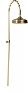 ANTEA zuhanyoszlop, fejzuhannyal, csaptelep nélkül, bronz (SET016)
