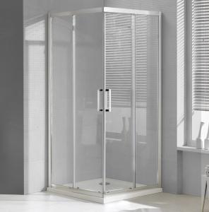 Wellis Apollo két tolóajtós, szögletes zuhanykabin