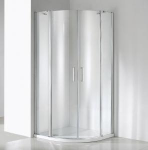 Wellis Scorpio két nyílóajtós íves zuhanykabin