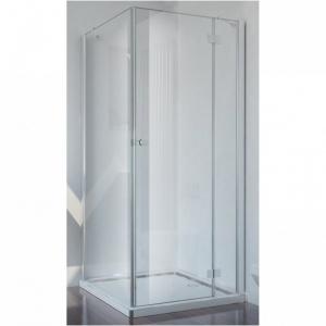 Smartflex sarokba szerelhető zuhanykabin egy fix fallal és egy nyíló ajtóval