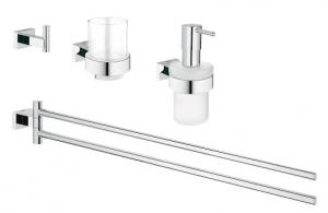 Grohe Essentials Cube 4 in 1 fürdőszobai szett