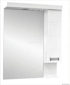 Viva SZQUARE tükrös szekrény, LED világítással, több méretben