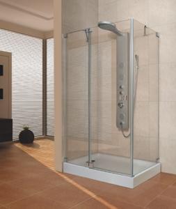 Aquatek Fresh aszimmetrikus zuhanykabin több méretben