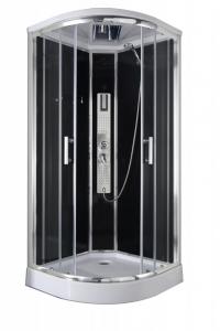 Sanotechnik Trend 1 íves hidromasszázs zuhanykabin elektronikával