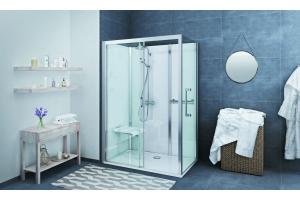 Roltechnik Vinata Comfort/Spirit 1160x877 hátfalas zuhanykabin