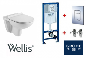 Grohe / Wellis BELLA Rimless wc szett