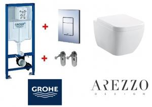 Grohe / Arezzo OHIO falsík alatti wc szett