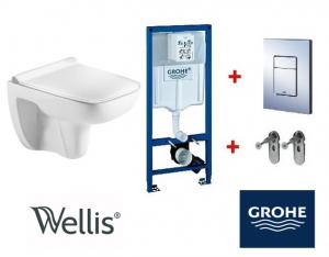 Grohe / Wellis ERIN Rimless wc szett