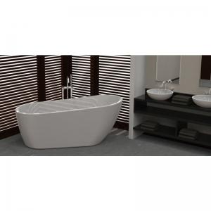Wellis Sierra 170x80x72 cm térben álló fürdőkád
