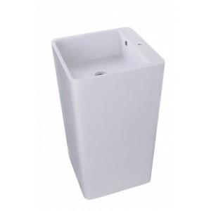 Sanotechnik Álló mosdó 45x44,5x83 cm, öntött márvány