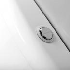 AQUALINE WC tartály dual gombos öblítőmechanikával, alsó bekötéssel 1