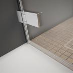 6 mm-es állíthatóságot biztosító swing fali zsanér