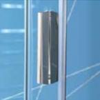 Easy Line zuhanyajtó átlátszó üveggel
