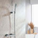 KIMURA termosztatikus zuhanycsaptelep, króm (KU245)