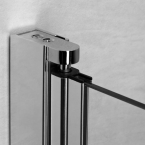 Radaway EOS II KDD szögletes két nyílóajtós zuhanykabin