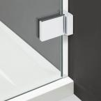 Speciális fali takaróprofil 10 mm-es toleranciával a fali egyenetlenségek eltakarásáért