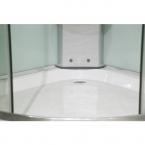 Balneum Mallorca hidromasszázs zuhanykabin 90x90cm íves