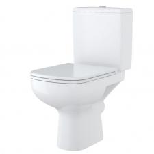 Cersanit COLOUR MONOBLOKKOS WC, TETŐ NÉLKÜL- OLDALSÓ BEKÖTÉS