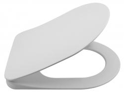 GARCIA WC-ülőke soft close, fehér/króm (100727 helyett) (100757)