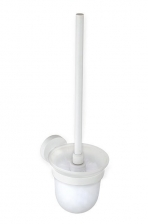 BEMETA WHITE WC kefetartó, fehér kefével, 95x370x140mm, fehér (104113014)