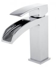 GINKO mosdó csaptelep, kiömlővel, leeresztő nélkül, mag.: 286 mm, króm (1101-05)