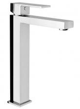 LATUS magasított mosdó csaptelep lefolyó nélkül, kartus, 26 mm, króm (1102-04)