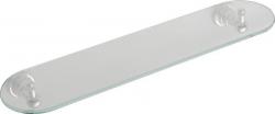 DIAMOND üveg polc, 50cm, króm (1317-15)