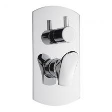 EFFEPI BÉK falbaépíthető zuhanycsaptelep 3 irányú váltóval, króm (13187)