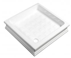 KERASAN RETRO zuhanytálca szögletes 90x90x20cm (133801)