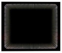 DV. Wenecja 3D hatású tükör