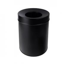 BEMETA HOTEL Szobai szemetes, 250x295x250mm, 7,5l, fekete (150115151)